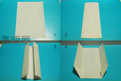 折纸衬衫信封 白色衬衣的折叠方法