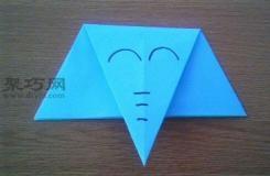 简单的儿童手工折纸大象图解教程 如何用纸折大象