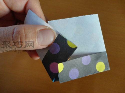一張紙秒變筷子架 折紙筷架的制作方法