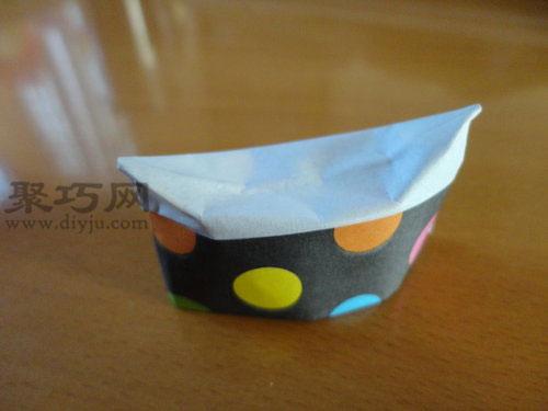 一张纸秒变筷子架 折纸筷架的制作方法