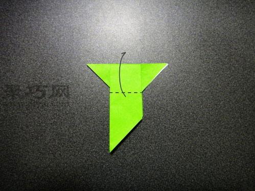 小鸟的折法:展翅青鸟折纸图解教程