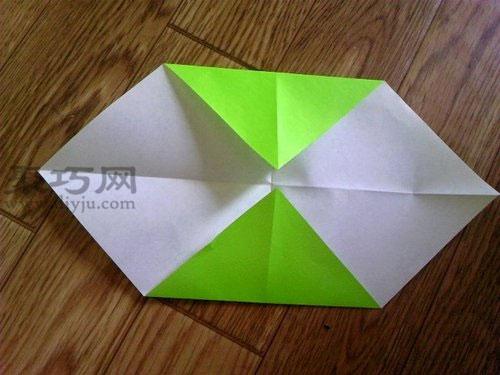 纸手里剑折纸图解教程