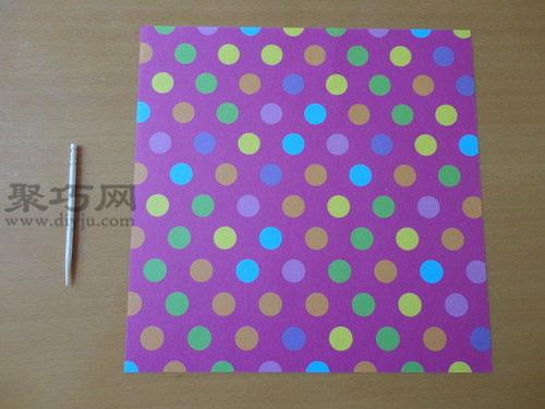 紙陀螺的折法圖解 6步學會紙陀螺的制作方法
