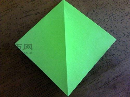 折纸鹤的方法图解折一只象征和平的绿色千纸鹤