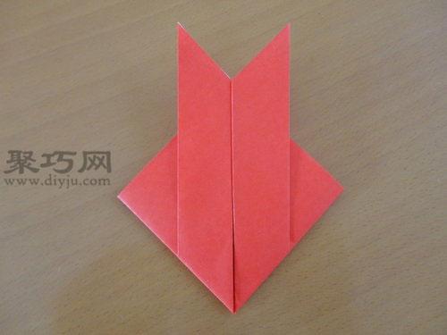 折纸鱼图解教程:教你最简单折金鱼方法