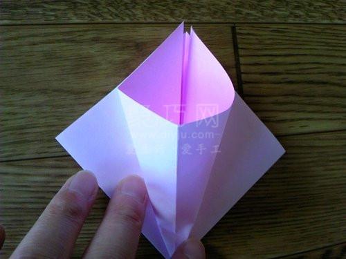 牵牛花折纸教程 教你学牵牛花怎么折