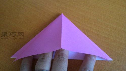 纸气球的折法图解教程 教你怎么折纸气球