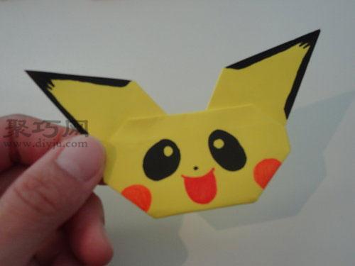 如何折纸——皮卡丘
