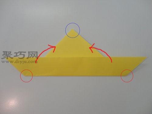 皮卡丘折纸图解教程 怎么用纸折皮卡丘