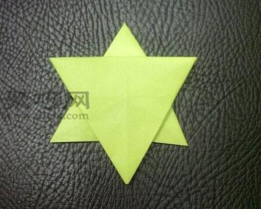 简单五角星的折法步骤图解