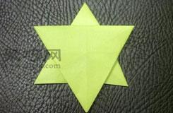 简单五角星的折法步骤图解 教你怎么折纸五角星