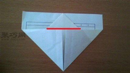 紙飛機的折疊方法圖解6