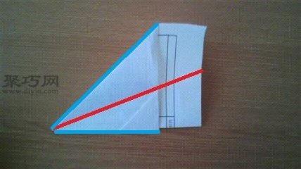 紙飛機的折疊方法圖解8