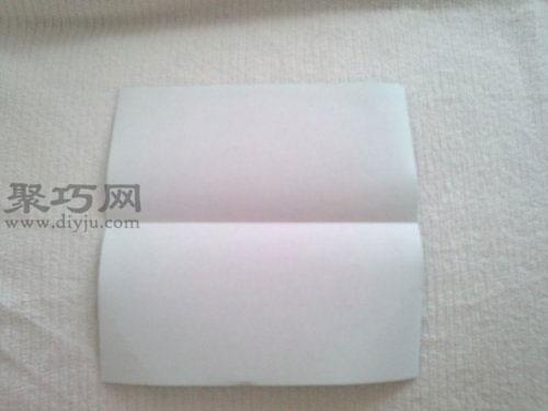紙青蛙折紙步驟1