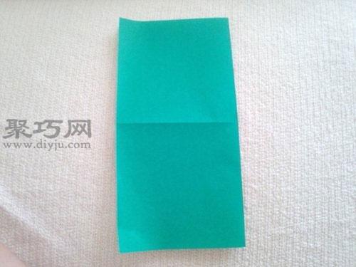 紙青蛙折紙步驟2