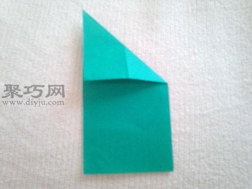 紙青蛙折紙步驟4