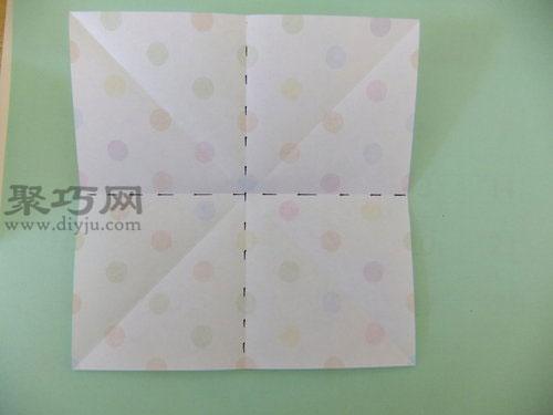立体花球折纸图解教程 教你如何手工折纸花球