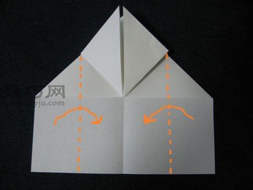 长方形纸怎么折桃心 折纸立体桃子图解教程