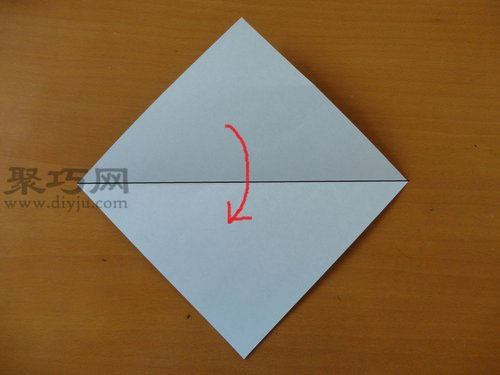 折纸狗头步骤1