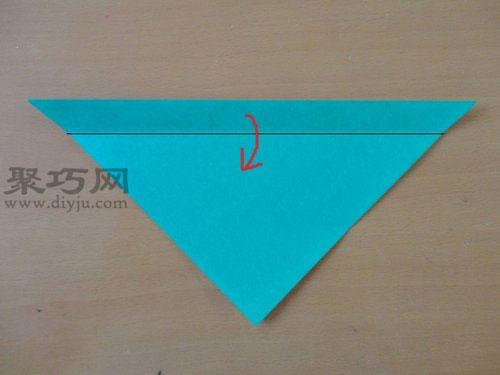 折纸狗头步骤2