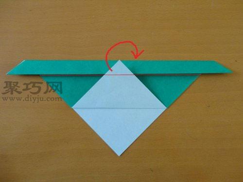 折纸狗头步骤4