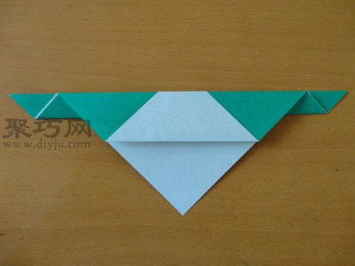 折纸狗头步骤5