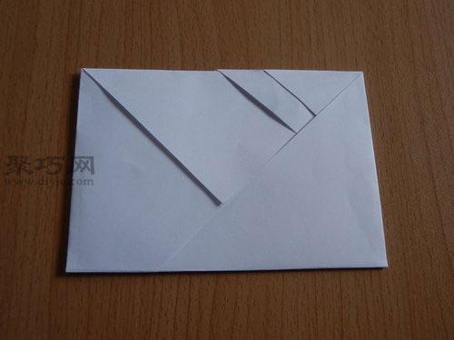 长方形笔友 信封 的折法 如何用a4纸折 信封 聚
