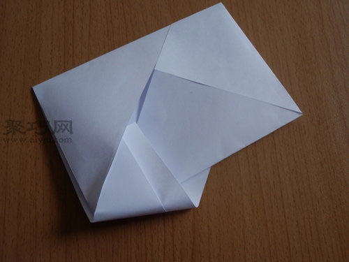 长方形笔友信封的折法 如何用a4纸折信封