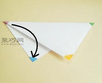 五角星的折叠方法用纸步骤叠五角星-聚商场装修步骤图片