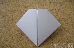 如何折疊心形情書 心形情書的折法圖解