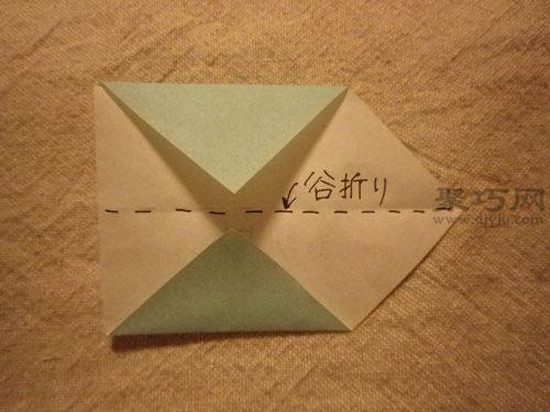 最简单日本鲤鱼旗折纸图解教程