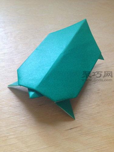 立体乌龟折纸
