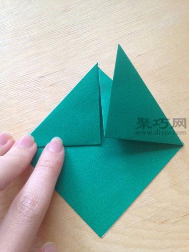 立体乌龟折纸步骤3