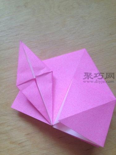 手工折叠桃子 折纸立体寿桃图解教程图片