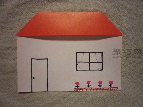 用纸做的小房子及步骤手工