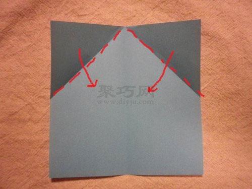寬頭飛機的折疊方法圖解