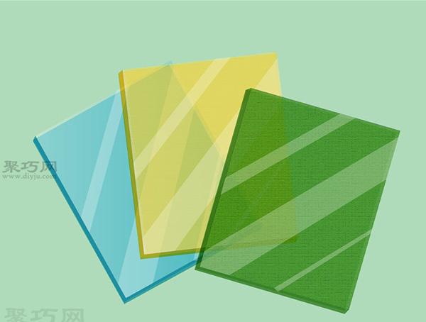 彩色玻璃蝴蝶手工制作教程 如何DIY彩色玻璃方法图解 3