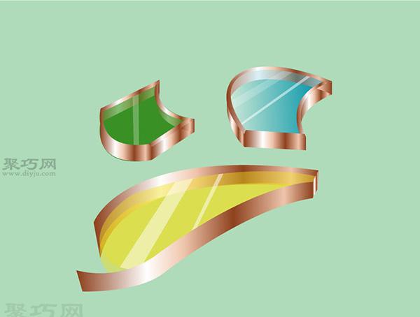 彩色玻璃蝴蝶手工制作教程 如何DIY彩色玻璃方法图解 8
