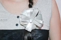 布基胶带做假花步骤图解 如何用布基胶带做花饰品