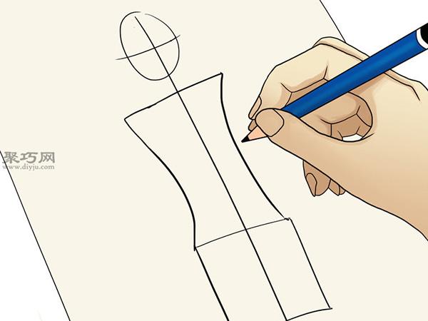 服装设计师总结的画时装草图详细步骤图解 6