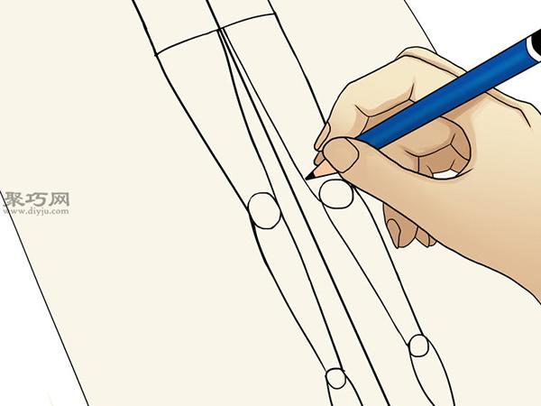 服装设计师总结的画时装草图详细步骤图解 8