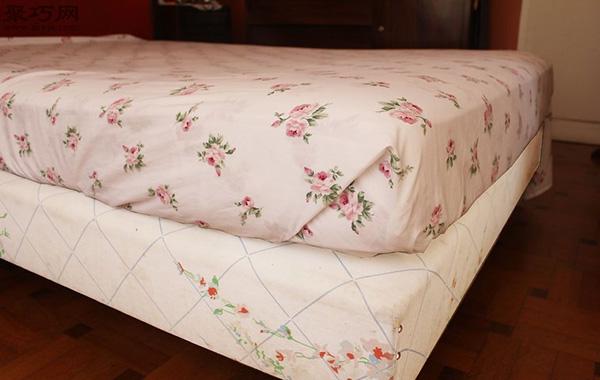 快速折叠床单角方法 教你床单边角怎么窝 6