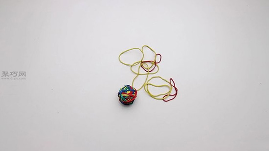 DIY橡皮筋球教程详解 自制橡皮筋弹力球玩具