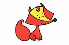 不会画狐狸怎么办?这个小朋友都能学会的简笔教程分分钟学会画狐狸!