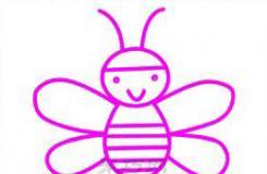 简单的小蜜蜂怎么画?这篇教你画简单好看的小蜜蜂