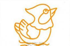 戏水鸳鸯简笔画画法 来一起画又简单又漂亮的鸳鸯