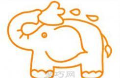 大象怎么画最简单?4步教会你画简单漂亮的大象