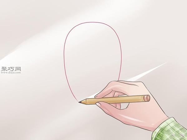 女性脸部素描画法教程 1