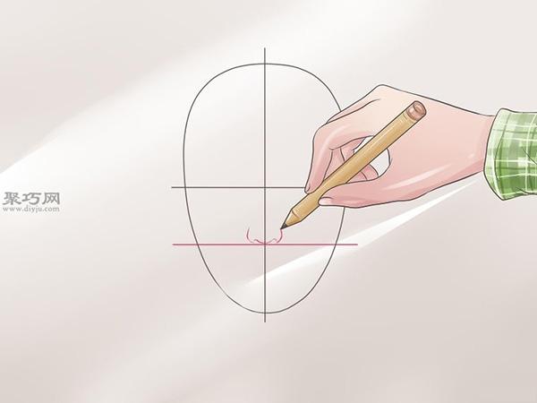 女性脸部素描画法教程 3