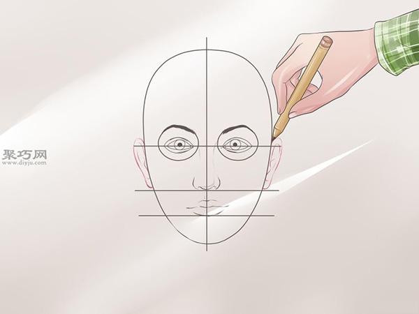 女性脸部素描画法教程 7